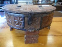 Carved Indian Box in Elgin, Illinois