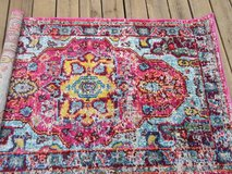 **rug runner Casablanca Rug KKCB11A-C0111 multi color 3' x 5' in New Lenox, Illinois