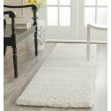 **Rug runner  Milan Shag Collection Ivory Runner (2' x 8') in Westmont, Illinois