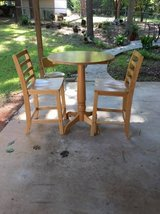 TABLE AND 2 HIGH BOY CHAIRS in Macon, Georgia