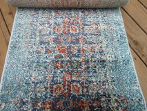 **Rug runner Safavieh Monaco Blue/Multi 2 ft. 2 in. x 16 ft. Runner in New Lenox, Illinois