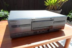 Vintage Kenwood Double Cassette Deck in Travis AFB, California