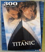 TITANIC PUZZLE OF THE MOVIE POSTER in Bartlett, Illinois