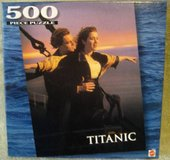 TITANIC PUZZLE KING OF THE WORLD SCENE in Bartlett, Illinois