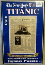 TITANIC PUZZLE NEW YORK TIMES in Elgin, Illinois