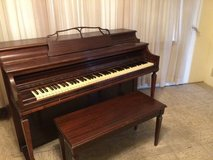 Reduced.... Whitney Spinet Piano and Bench in Bartlett, Illinois