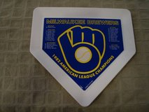 Stunning Milwaukee Brewers Home Plate 1982 American League Champions in Brookfield, Wisconsin