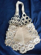 Evening Bag Crochet  Wagon Wheel Design Light Brown One & Only Rare in Temecula, California