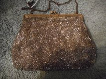 Beaded Evening hand bag Made in France Vintage in Temecula, California