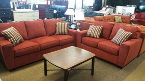 "ASHLEY ""LANDOFF RED"" SOFA/LOVESEAT in Honolulu, Hawaii"