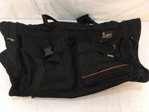charlie sports black nylon duffel 25 x 13 x 13 shoulder strap travel bag  01121 in Fort Carson, Colorado