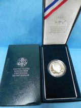 united states eisenhower centennial silver dollar with case in Camp Lejeune, North Carolina
