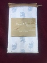 NWT Elephant Two Standard Pillowcases Nicole Miller in New Lenox, Illinois