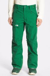 nwt north face hyvent freedom mens xlarge green insulated ski snow pants  00131 in Huntington Beach, California
