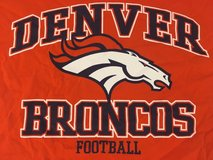 nfl 2017 nwt denver broncos shirt football holographic orange mens large orange  00772 in Fort Carson, Colorado