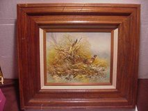 VINTAGE PAINTING OF  PHEASANT in Lake Elsinore, California