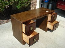 child's wooden desk in Naperville, Illinois