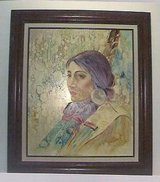 Vintage Painting Indian Women Looks Fantistic in Lake Elsinore, California