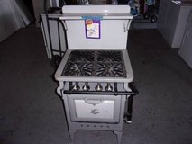 1900's Gas Stove in Fort Riley, Kansas