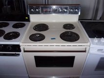 Whirlpool Off-White Electric Stove in Fort Riley, Kansas