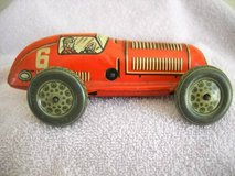Tin Wind Up Toy Race Car US Zone Germany 1945 Rare Vintage in Lake Elsinore, California