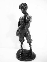 "Bronze English Paper Boy Mattland Smith 11 1/4"" Tall in Temecula, California"