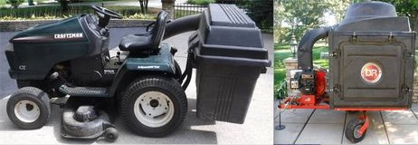 "Craftsman 20 HP 46"" cut Garden Tractor -OR- DR Lawn Vacuum / Mulcher in Naperville, Illinois"