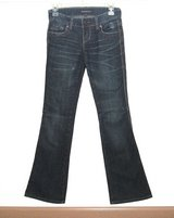 Underground Soul Ultra Low Whiskered Flare Denim Jeans Womens 0 x 32 Tall in Morris, Illinois