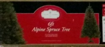 NEW 6ft Alpine Spruce Green Artificial Christmas Tree - NIB in Hopkinsville, Kentucky