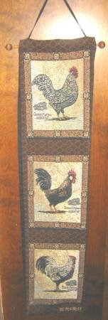 HANGING TAPESTRY - CHICKEN THEME in Naperville, Illinois