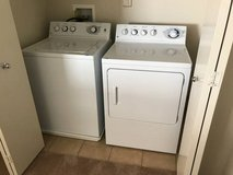 White washer and dryer in Nellis AFB, Nevada