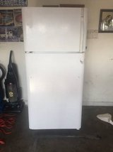 White refrigerator dishwasher stove and hood in Nellis AFB, Nevada