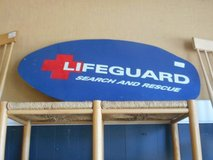 Lifeguard Sign/Board in St. Charles, Illinois