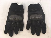 new authentic oakley black large leather kevlar combat assault tactical gloves 01314 in Huntington Beach, California