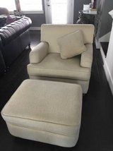 Full sized couch and chair with matching ottoman in Liberty, Texas