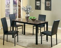 Faux Marble Top 5Pc Dinette in Beaufort, South Carolina