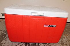 Large Coleman Polylite Cooler / Ice Chest 48 Quarts Model 5286b - Holds 68 Cans in Aurora, Illinois