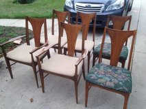 Dining Chairs (6) in DeKalb, Illinois