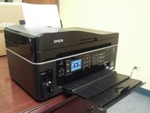 Epson Workforce 600 C363A All In One Fax Printer Works Needs Ink in Sugar Grove, Illinois