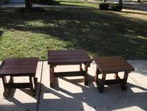 SET OF END TABLES AN COFFEE TABLE in Tinley Park, Illinois