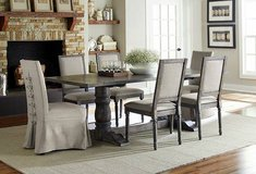 In Stock! New 9pc Gray Dinette in Beaufort, South Carolina