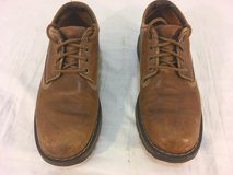 mens timberland light brown leather upper palomas series oxford 8.5m 8 1/2 shoes  01302 in Fort Carson, Colorado