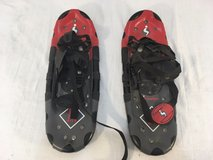 instep sub zero 6-15 black red metal rubber 17 x 6 winter snow shoes  01272 in Huntington Beach, California