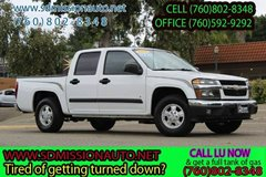 2008 Chevrolet Colorado LT Ask for Louis (760) 802-8348 in Camp Pendleton, California