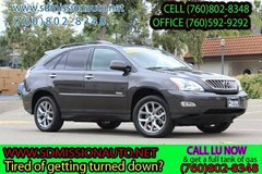 2009 Lexus RX 350 Base Ask for Louis (760) 802-8348 in Camp Pendleton, California
