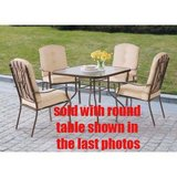 Ashwood Heights Outdoor Patio Set - NEW! in Joliet, Illinois