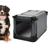 "Maelson Soft Kennel, 48"", Anthracite - NEW! in Oswego, Illinois"