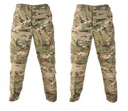(2)army combat multicam fracu medium long button fly deployment trousers holes 01365 in Fort Carson, Colorado