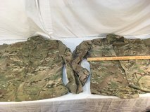 (2) usgi us army deployment combat large-regular multicam blouse small holes 01361 in Fort Carson, Colorado