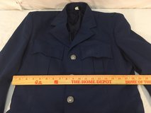 flying cross mens air force blue 38 xl cadet blend service uniform coat jacket  01359 in Fort Carson, Colorado